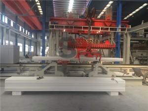 蒸压加气混凝土板材生产线