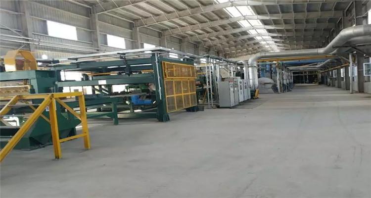 Sinopower2.5万吨岩棉生产线投产
